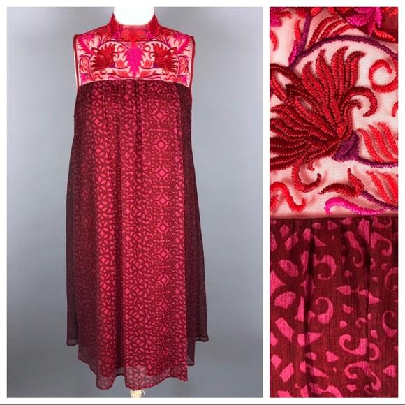 965385d711bf4 Anthropologie Dresses | Niki Mahajan Amara Swing Dress | Poshmark